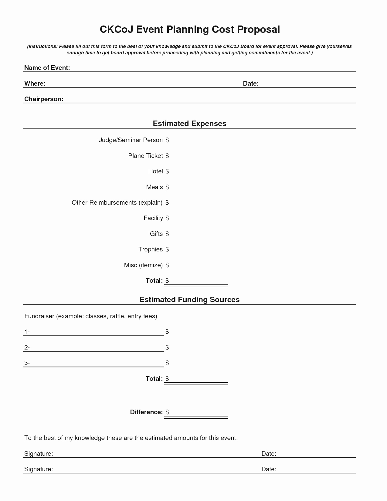 Event Planning Proposal Template New event Proposal Example Mughals