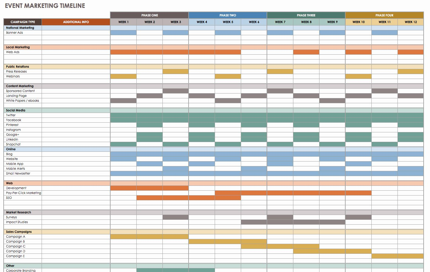 Event Planning Schedule Template Lovely 21 Free event Planning Templates