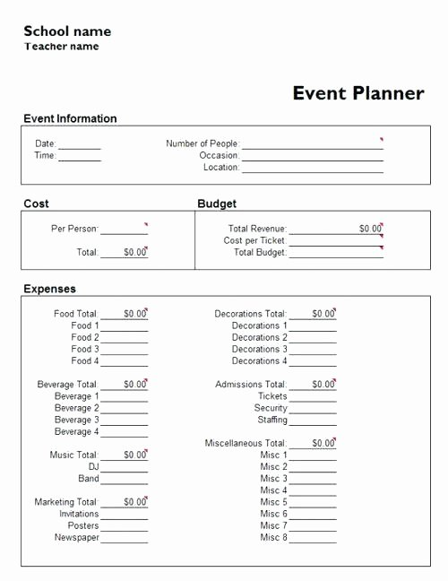 Event Planning Template Google Docs Inspirational event Planning Template Google Docs Sheet Excel Templates