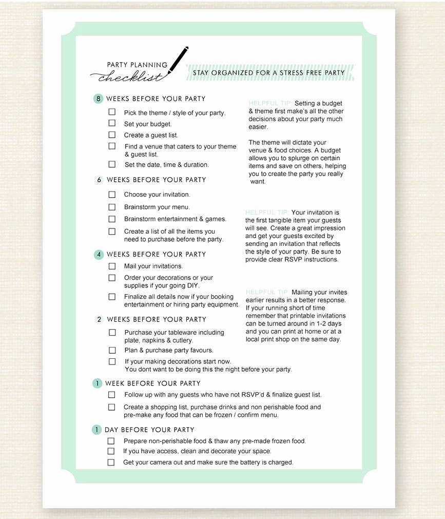 Event Planning Template Google Docs Luxury Party Planning Checklist Template Luxury Starting An event