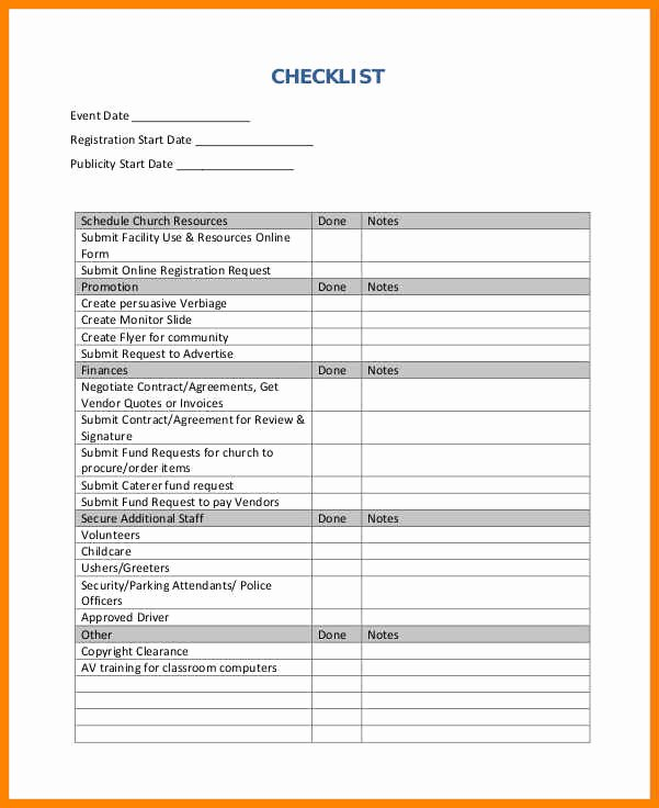 Event Planning Template Pdf Awesome 6 event Plan Template Excel
