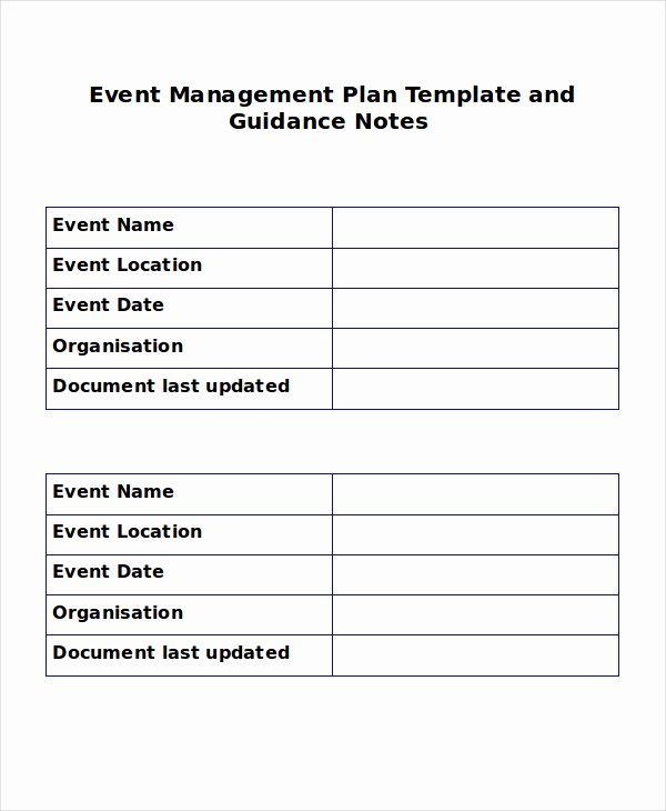 Event Planning Template Pdf Beautiful event Outline Template 7 Free Word Pdf Document