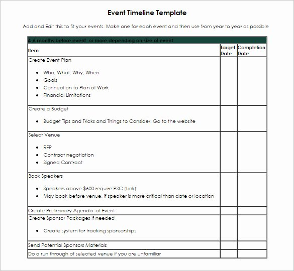 Event Planning Timeline Template Lovely Timeline Template 67 Free Word Excel Pdf Ppt Psd