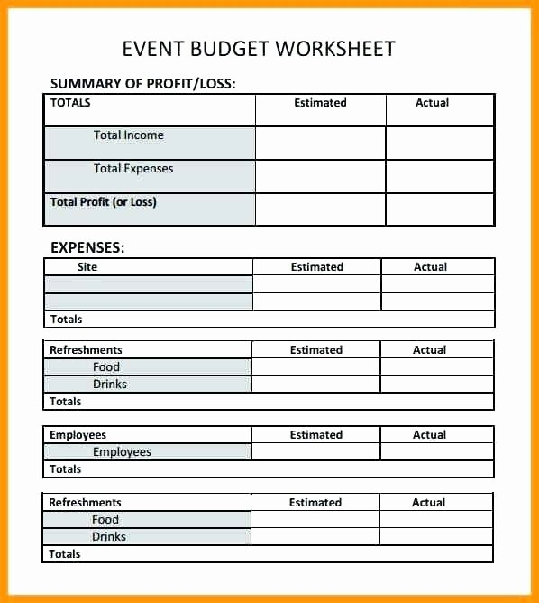 Event Planning Worksheet Template Lovely Checklist Template for event Planning Excel Spreadsheet