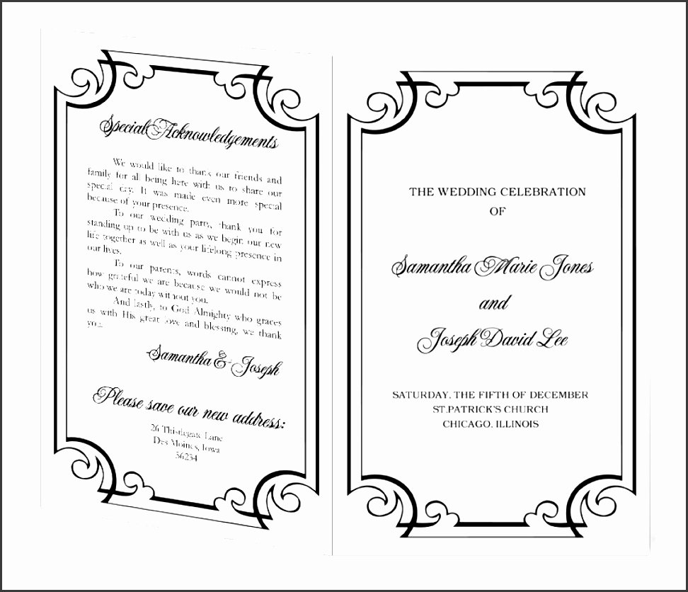 Event Program Template Word Awesome 10 Ms Word event Program Template Sampletemplatess