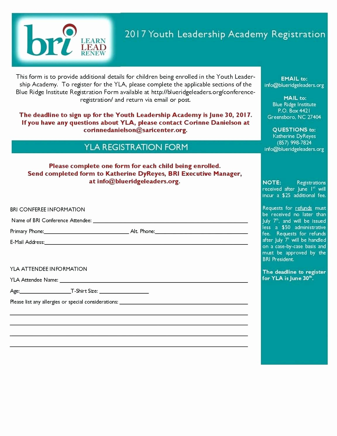 Event Registration form Template Word Best Of 97 Conference Registration form Template Word event
