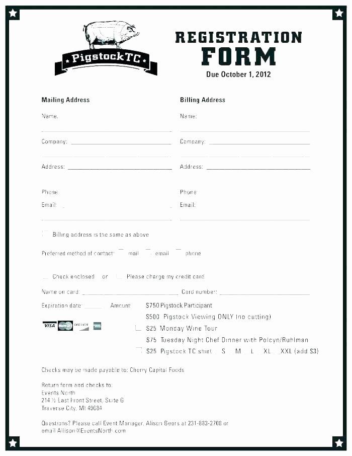 Event Registration form Template Word Elegant event Registration form Template Word Alluring Templates