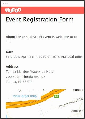 Event Registration form Template Word Fresh 10 event Registration form Template Microsoft Word
