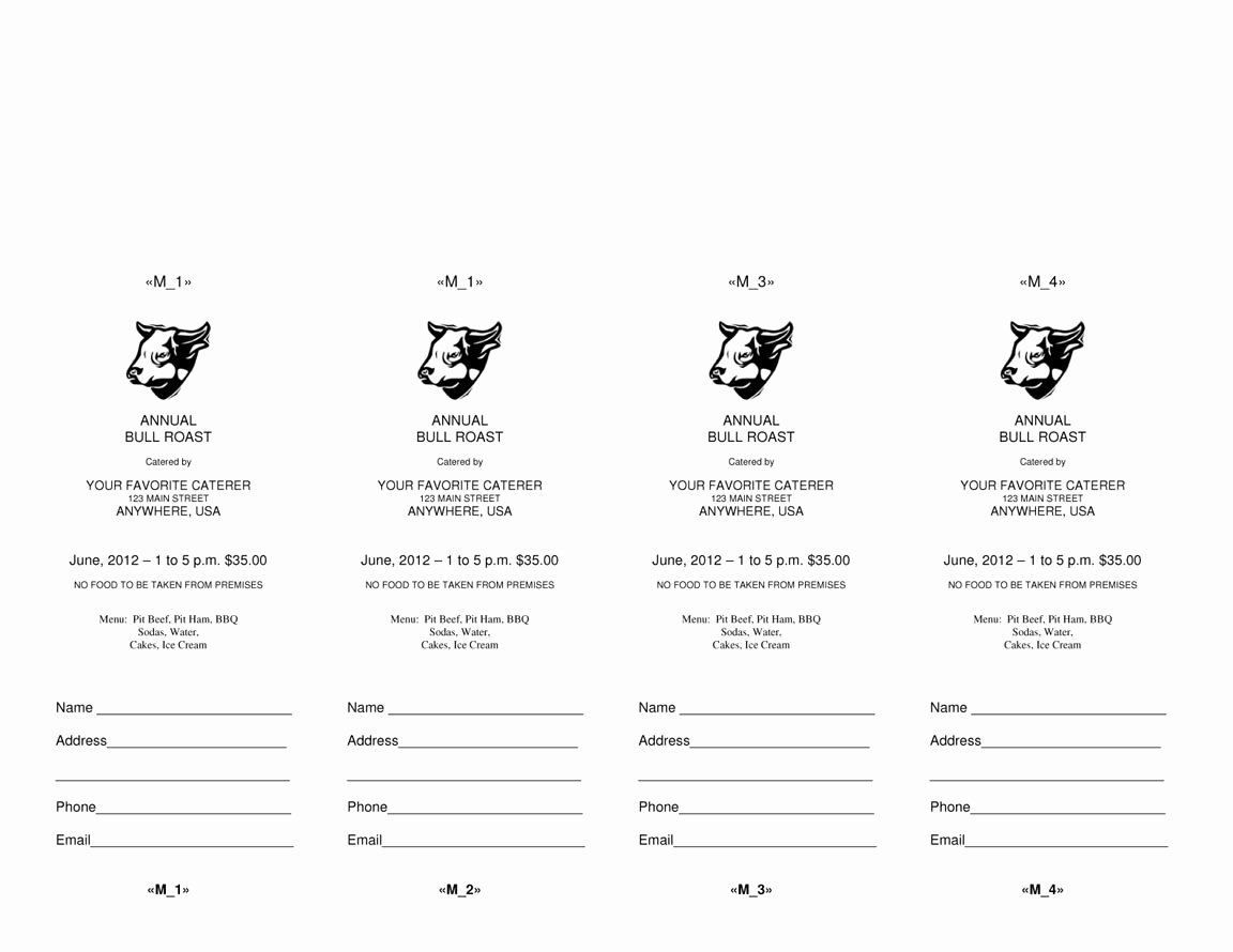 Event Ticket Template Word Beautiful 4 Microsoft Word Ticket Templates Word Excel Pdf formats