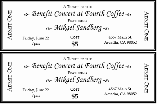Event Ticket Template Word Fresh Admission Ticket Template that S so Random