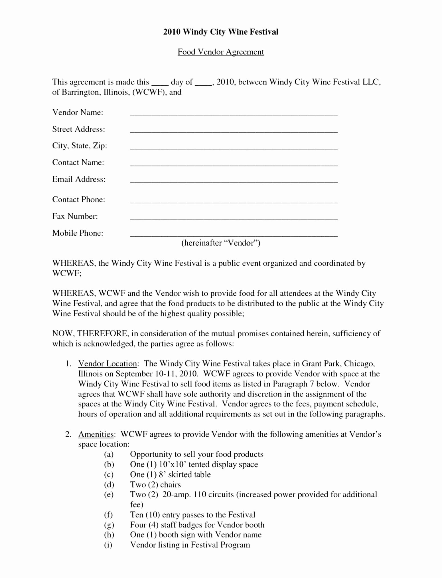 Event Venue Contract Template Unique event Space Rental Agreement Template