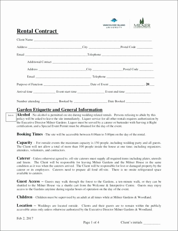 Event Venue Contract Template Unique Venue Hire Agreement Template Model Examples In Word