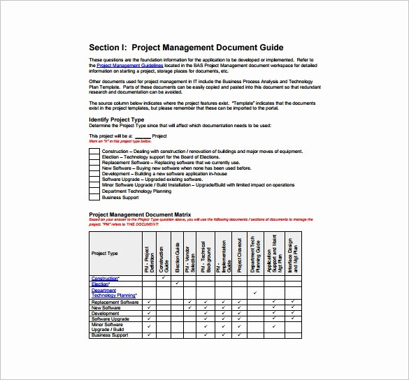 Example Of Project Plan Template Awesome 16 Project Management Plan Templates Free Sample