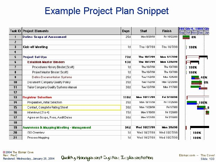 Example Of Project Plan Template Best Of Example Project Plan Snippet