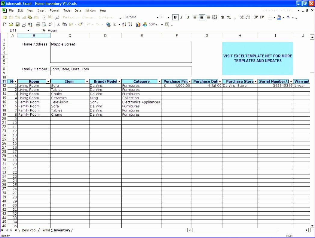Excel asset Tracking Template Awesome 6 Excel Stock Control Template Exceltemplates