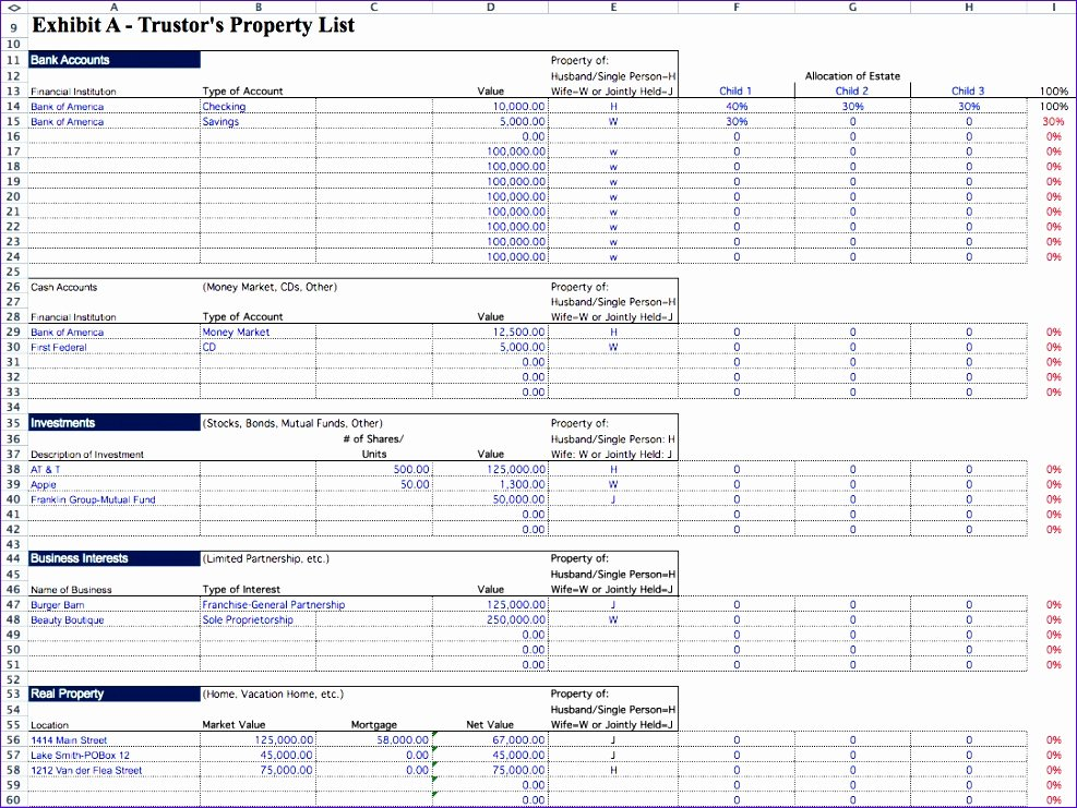 Excel asset Tracking Template Best Of 6 Inventory Tracking Template Excel Exceltemplates