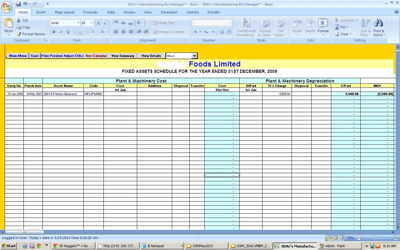 Excel asset Tracking Template Elegant Fixed asset Tracking Excel Template Maxresdefault