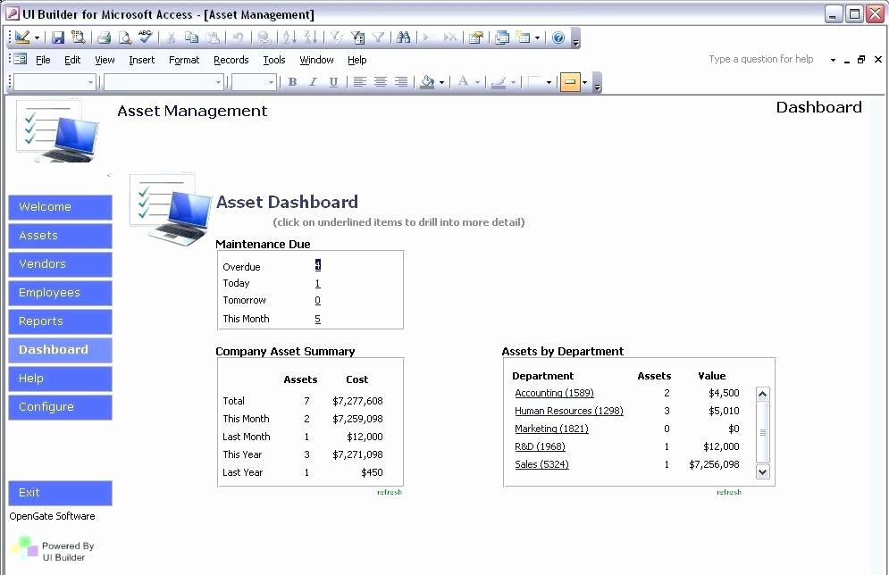 excel asset tracking template and inventory control format free