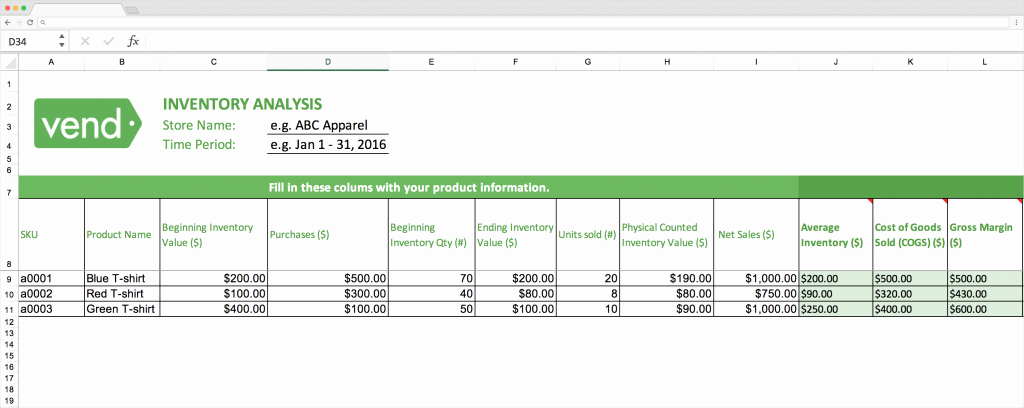 Excel asset Tracking Template Unique top 10 Inventory Tracking Excel Templates · Blog Sheetgo