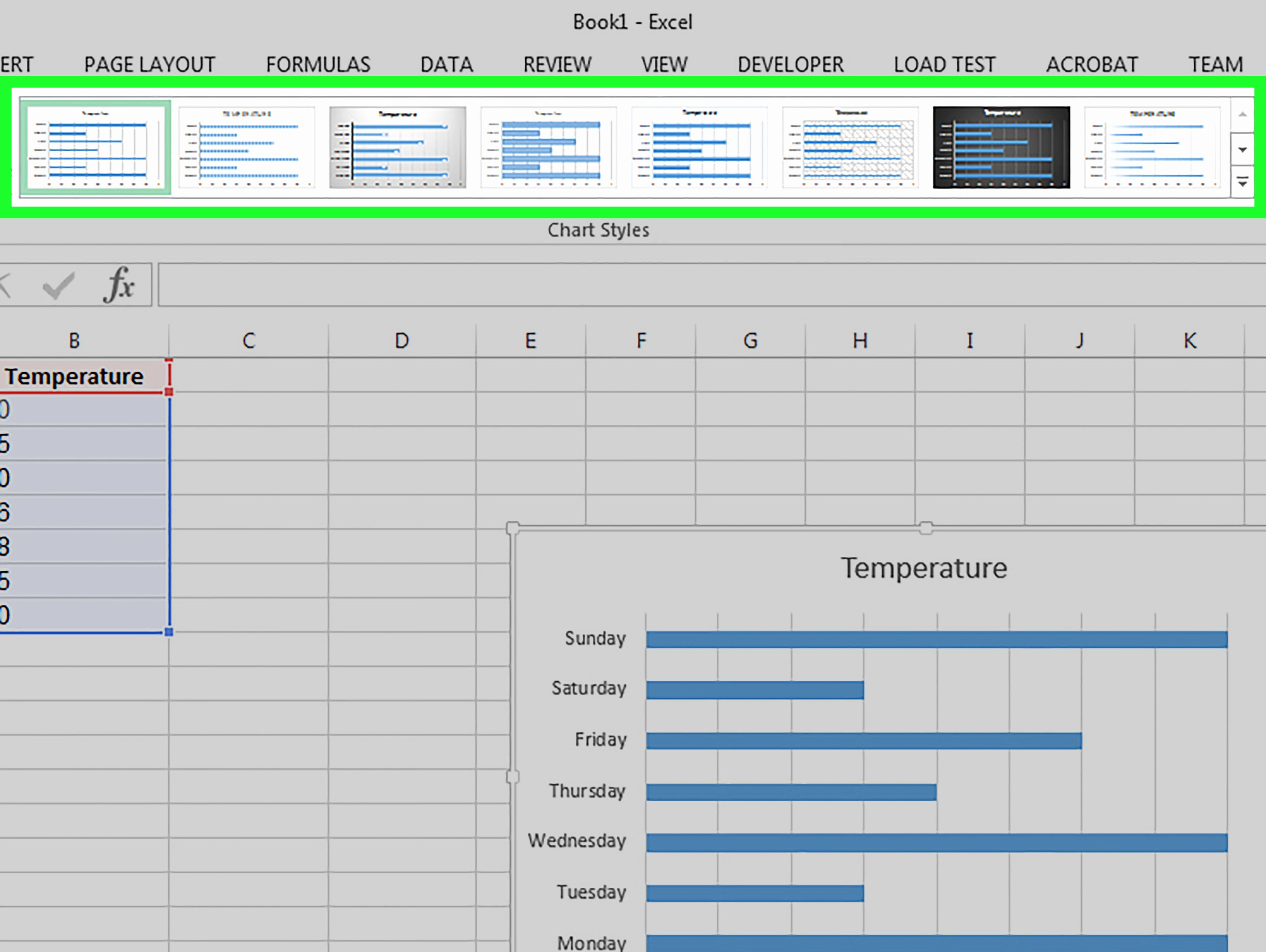 Excel Bar Graph Template Luxury How to Make A Bar Graph In Excel 10 Steps with