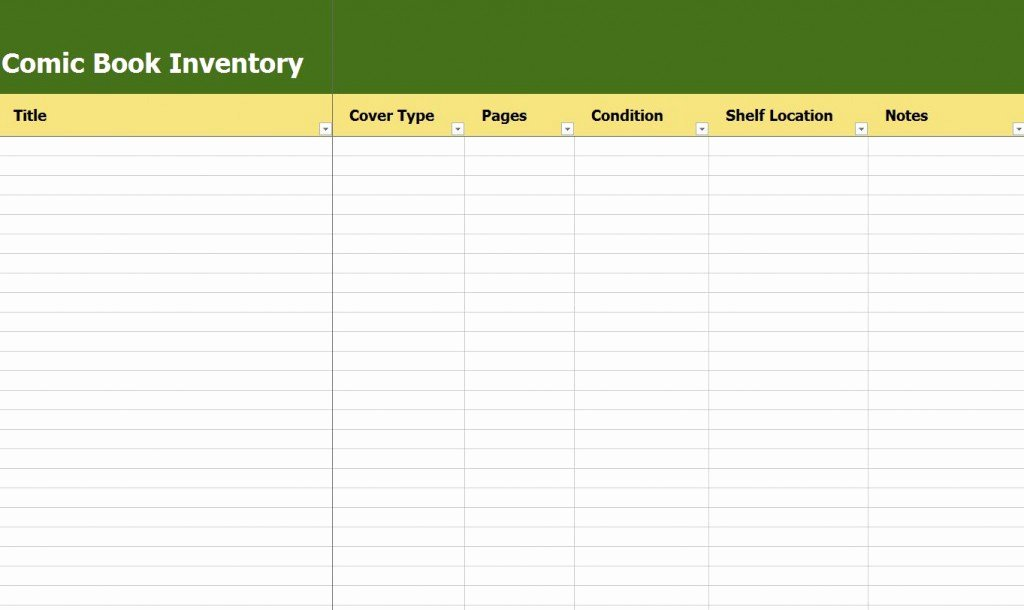 Excel Book Inventory Template Beautiful Ic Book Inventory