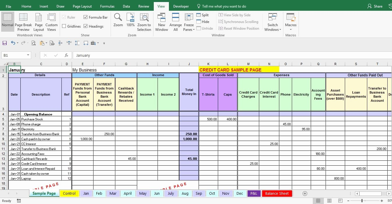 Excel Business Expense Template New Excel Expense Report Template