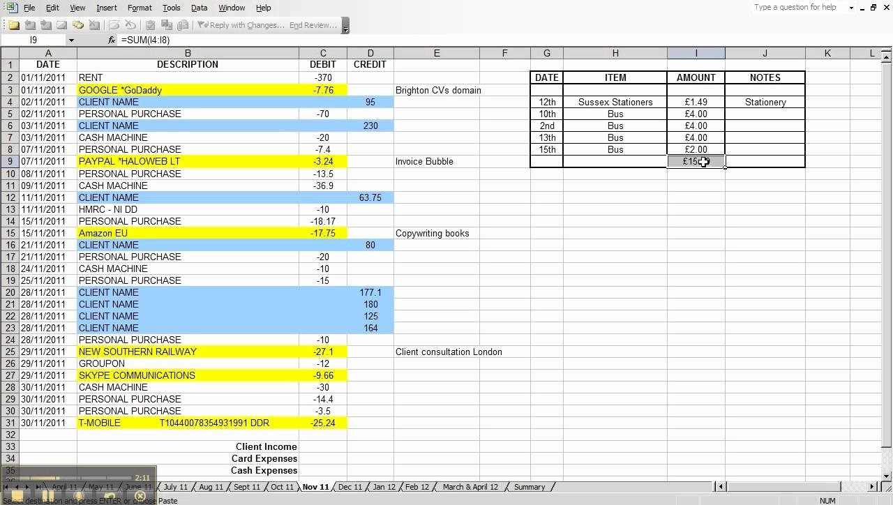Excel Business Expenses Template Inspirational How to Set Up Excel Spreadsheet for Business Expenses