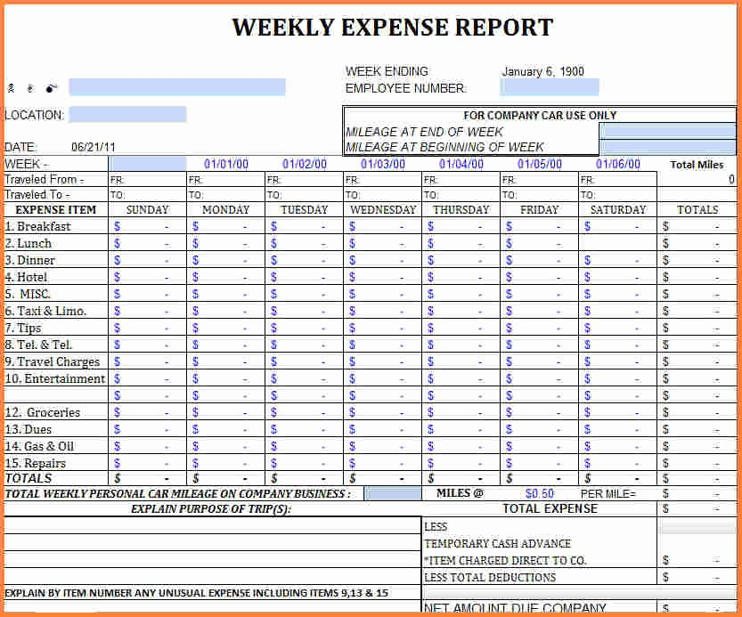 Excel Business Expenses Template New 5 Business Monthly Expenses Spreadsheet