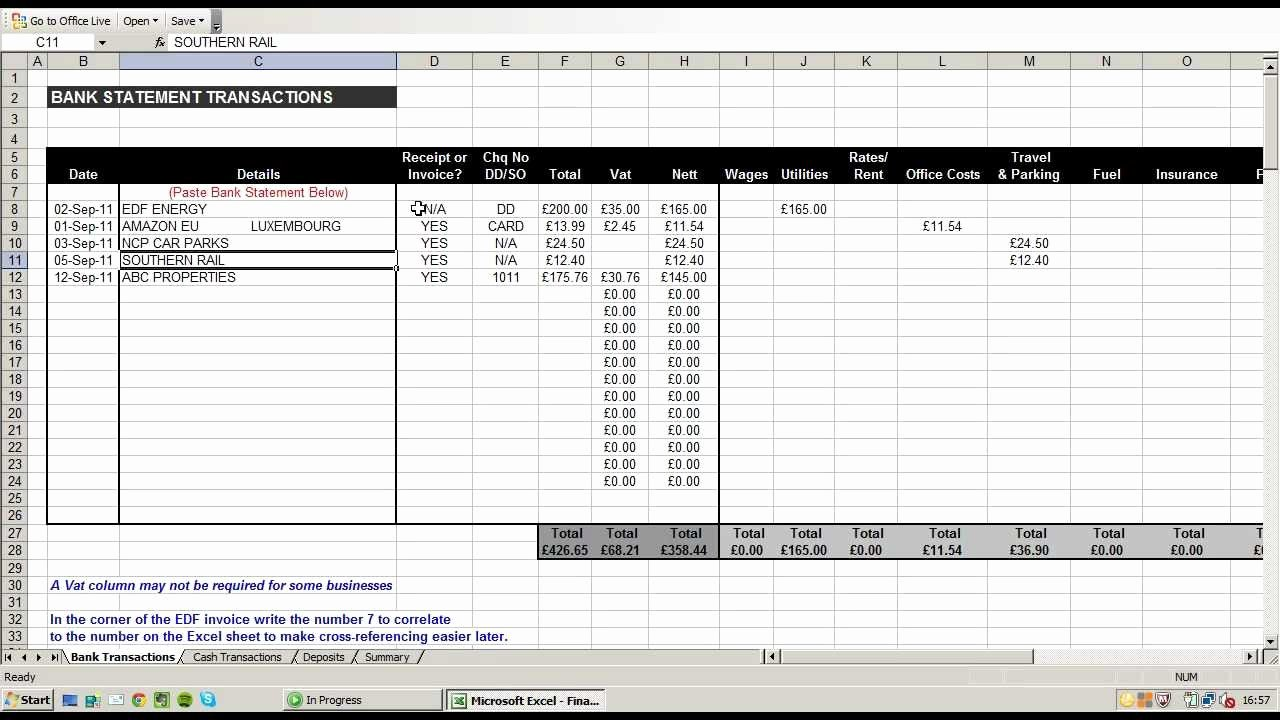 Excel Business Expenses Template New Business Expenses Spreadsheet Template Business