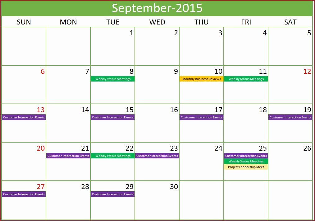 Excel Calendar Schedule Template Beautiful event Calendar Maker Excel Template Monthly with