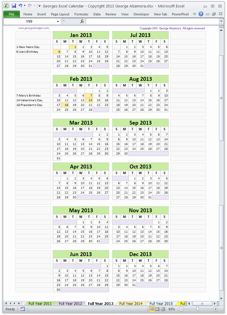 Excel Calendar Schedule Template Beautiful Excel Spreadsheet Calendar Template