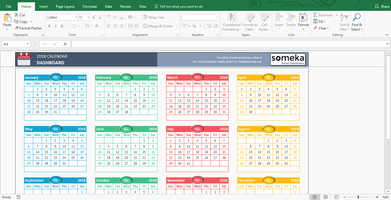 Excel Calendar Schedule Template Best Of Excel Calendar Template Free Printable Monthly Calendar