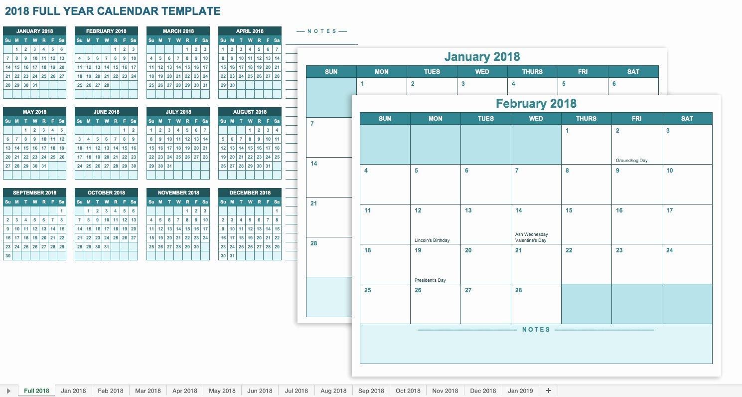 Excel Calendar Schedule Template Fresh Free Excel Calendar Templates