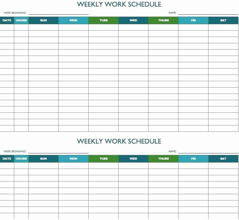 Excel Calendar Schedule Template New Editable Weekly Planner Template – Haydenmedia