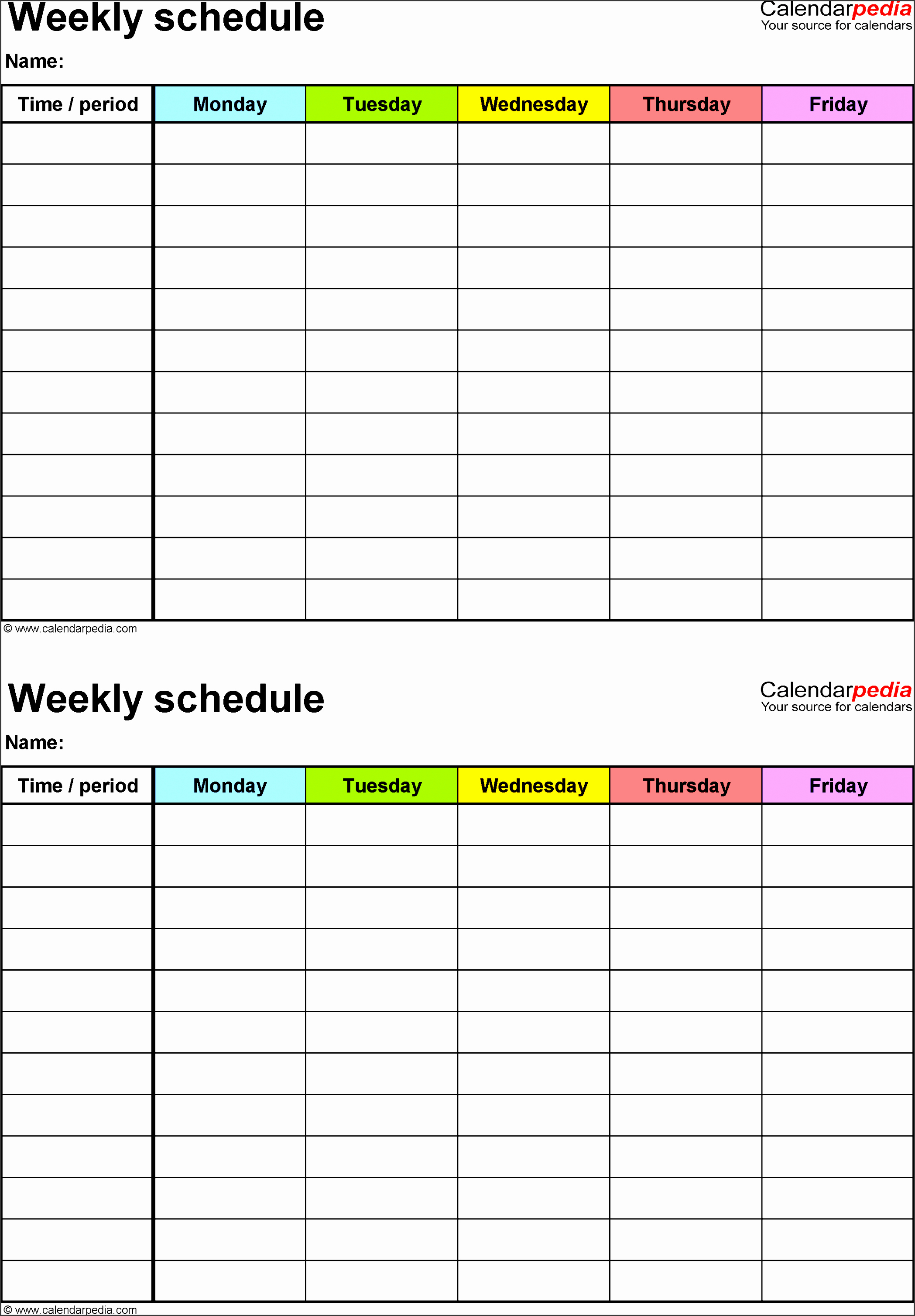 Excel Daily Schedule Template Elegant 10 How to Create Daily Work Schedule In Excel