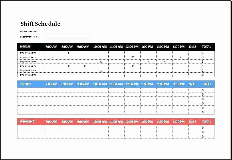 Excel Employee Shift Schedule Template Lovely Call Center Scheduling Excel Spreadsheet Business Templates