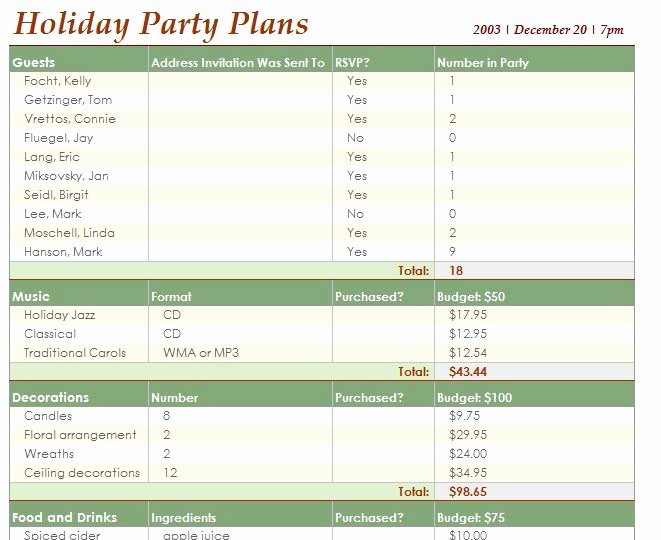 Excel event Planning Template Best Of event Planning Template