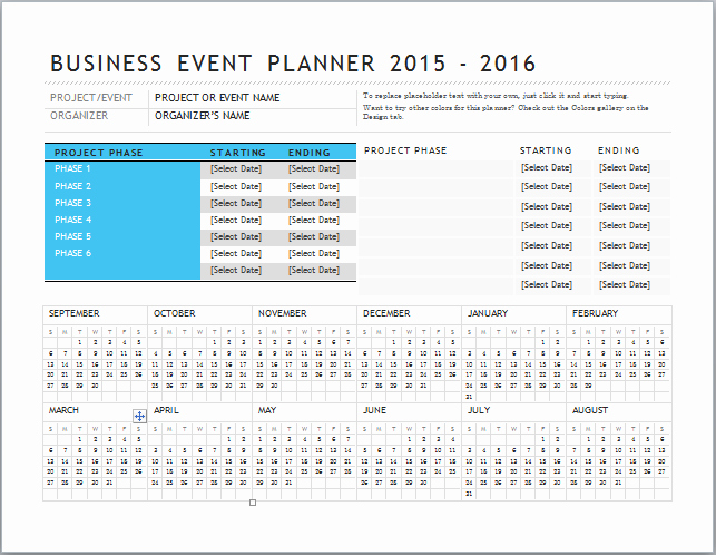 Excel event Planning Template Unique 27 Of event Planning Website Template