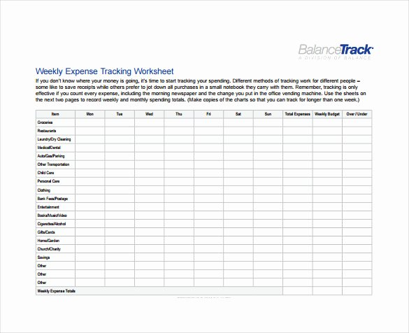 Excel Expense Tracker Template Beautiful Expense Sheet Template 9 Free Word Excel Pdf