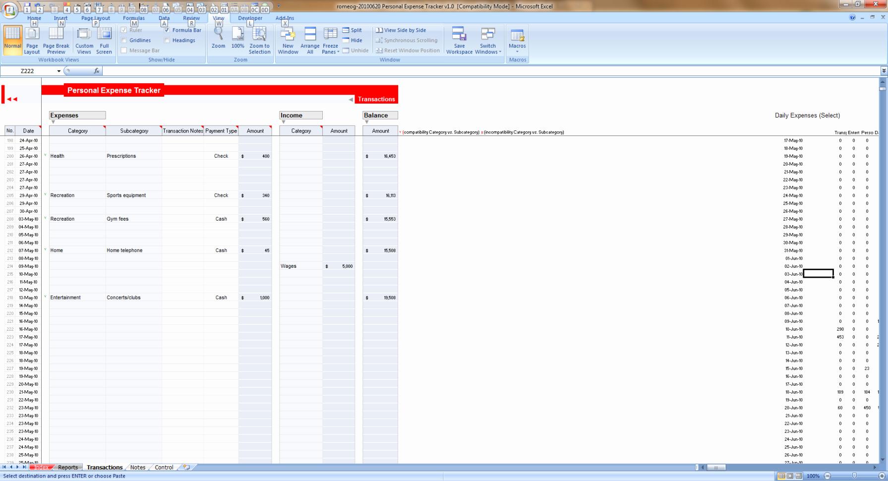 Excel Expense Tracker Template Elegant Expense Tracking Spreadsheet Template Expense Spreadsheet