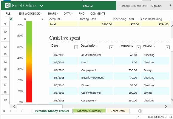 Excel Expense Tracker Template Elegant Money Tracker Template Excel Spreadsheet Template