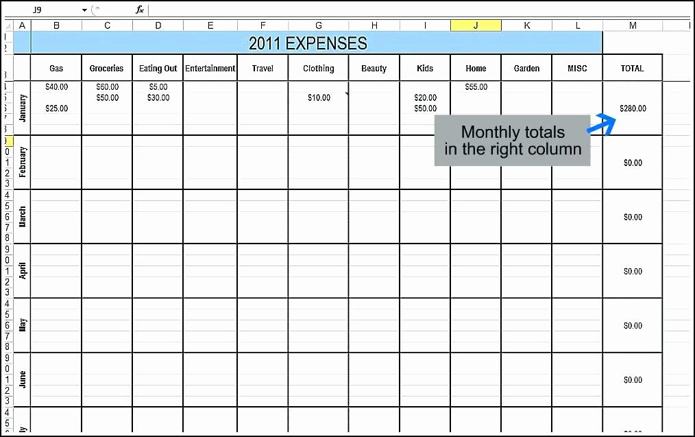 Excel Expense Tracker Template Unique Daily Expenses Tracker Excel Sheet Bud Template Free