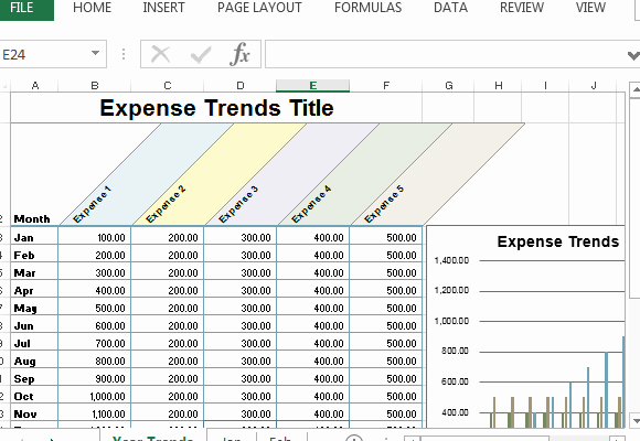 Excel Expense Tracker Template Unique Small Business Expense Sheet for Excel