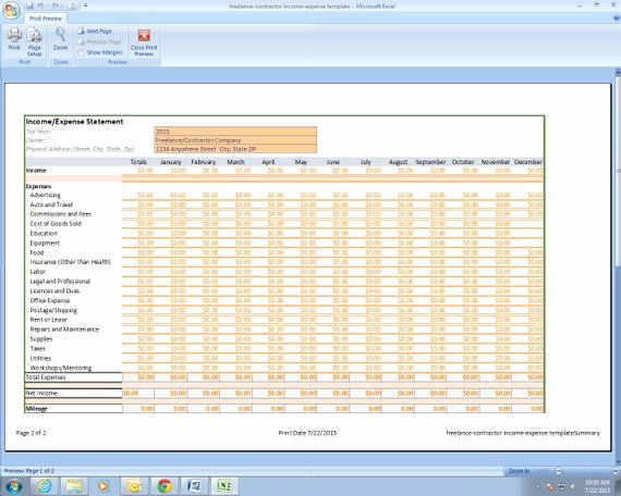 Excel Income and Expense Template Best Of Freelance Grapher In E and Expenses Excel Spreadsheet