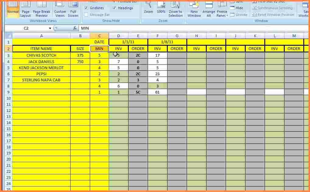 Excel Inventory Tracking Template Fresh 3 Inventory Tracking Spreadsheet Template
