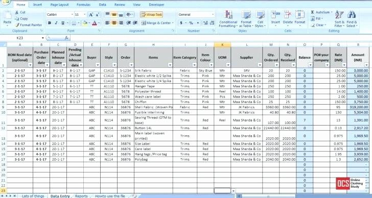 Excel Inventory Tracking Template Luxury Inventory Spreadsheet Template Excel Product Tracking