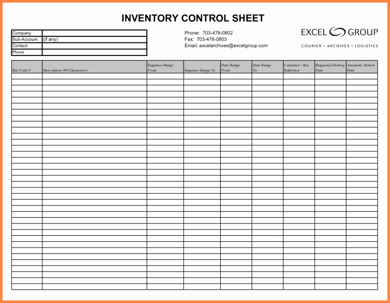 Excel Inventory Tracking Template New 3 Inventory Tracking Spreadsheet Template