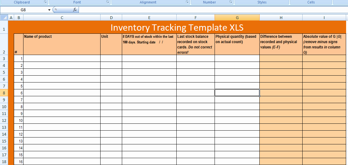 Excel Inventory Tracking Template Unique Free Excel Inventory Tracking Template Xls Free Excel