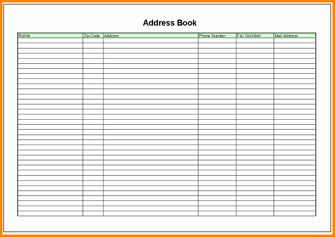 Excel Mailing List Template Inspirational Excel Mailing List Template Hashtag Bg