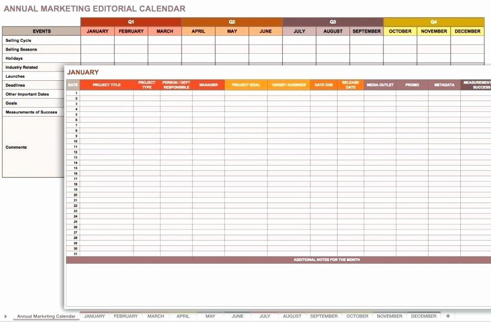 Excel Marketing Plan Template Elegant Annual Marketing Plan Template – Azserverfo